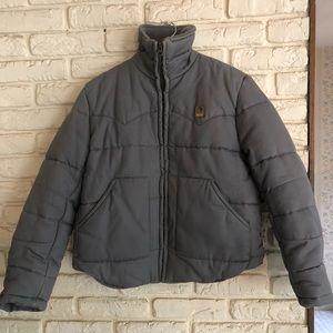 **Vintage** Retro G-Star Jacket.  Gray Cordura
